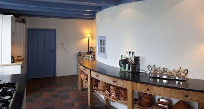 Dunne keukenbladen van steen