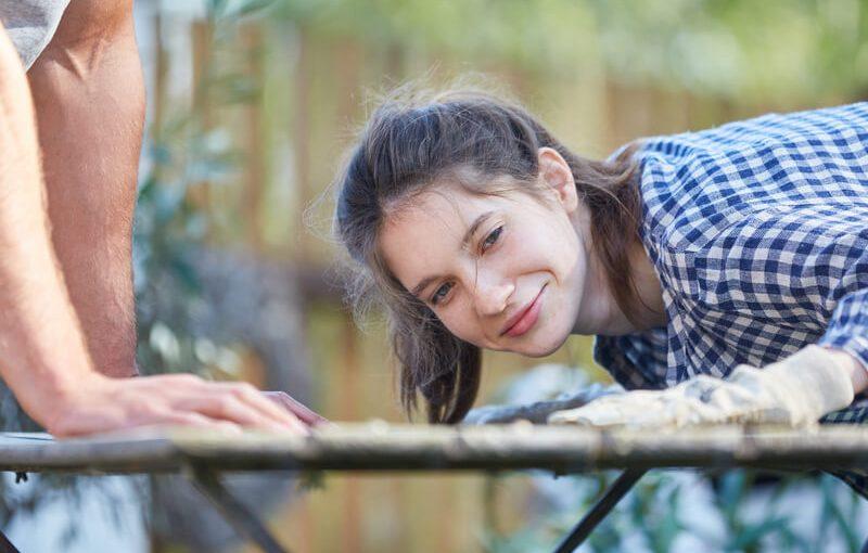 tuinmeubels goed onderhouden
