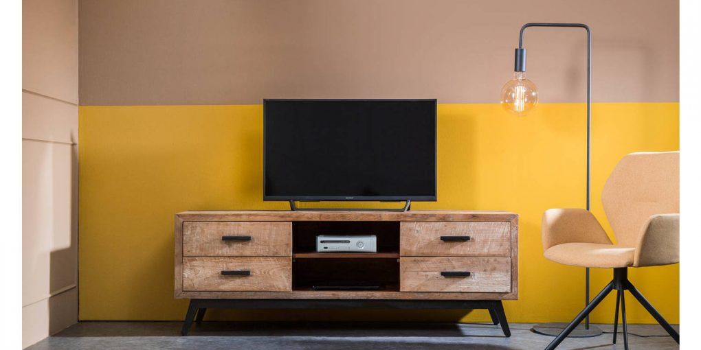 tv meubel met extra opbergruimte