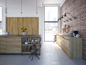 gebruik van hout in de keuken