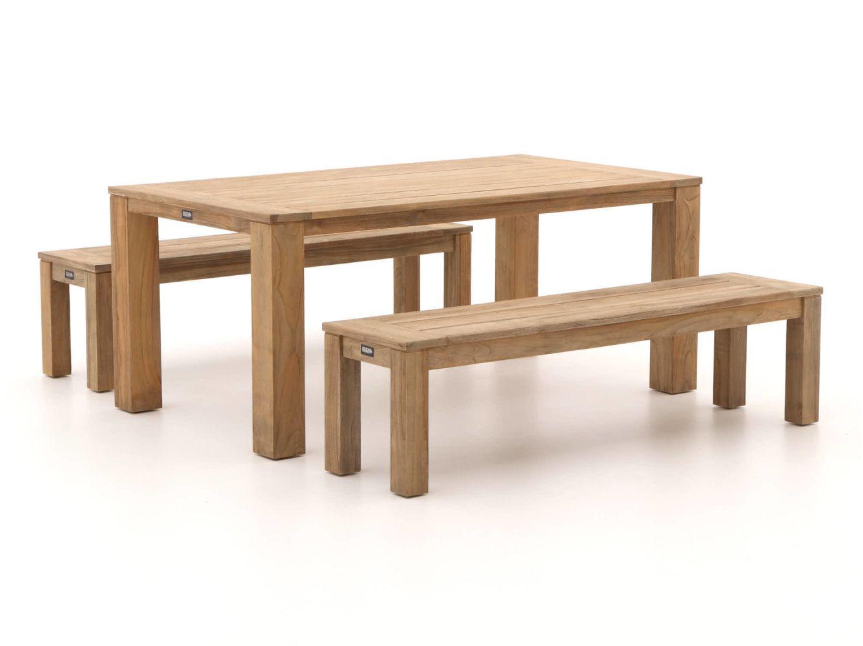 mooie houten picknick set